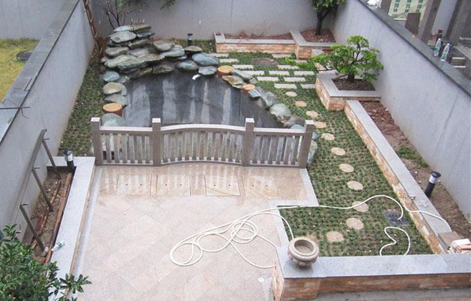 庭院鱼池水处理系统设计